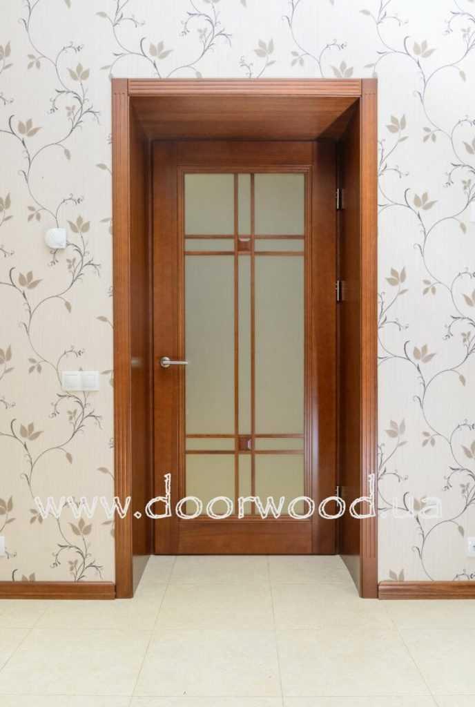 нестандартное открывание двери внутрь короба