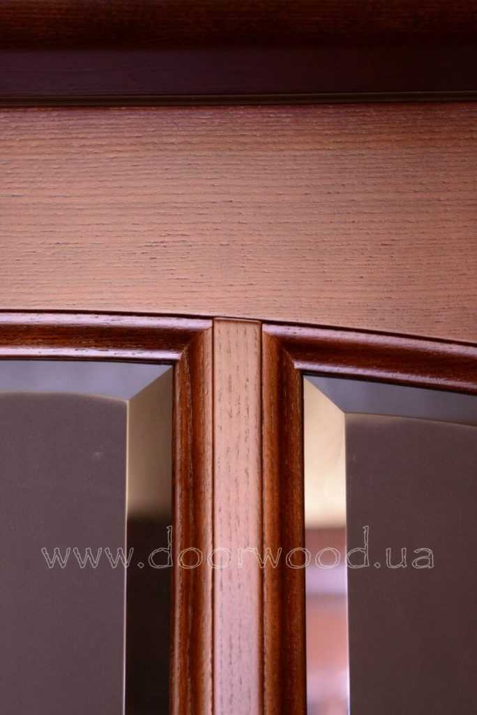 how to choose door kharkiv, faceted glass in the door, inter-room doors from the array of ash doorwood.dveri