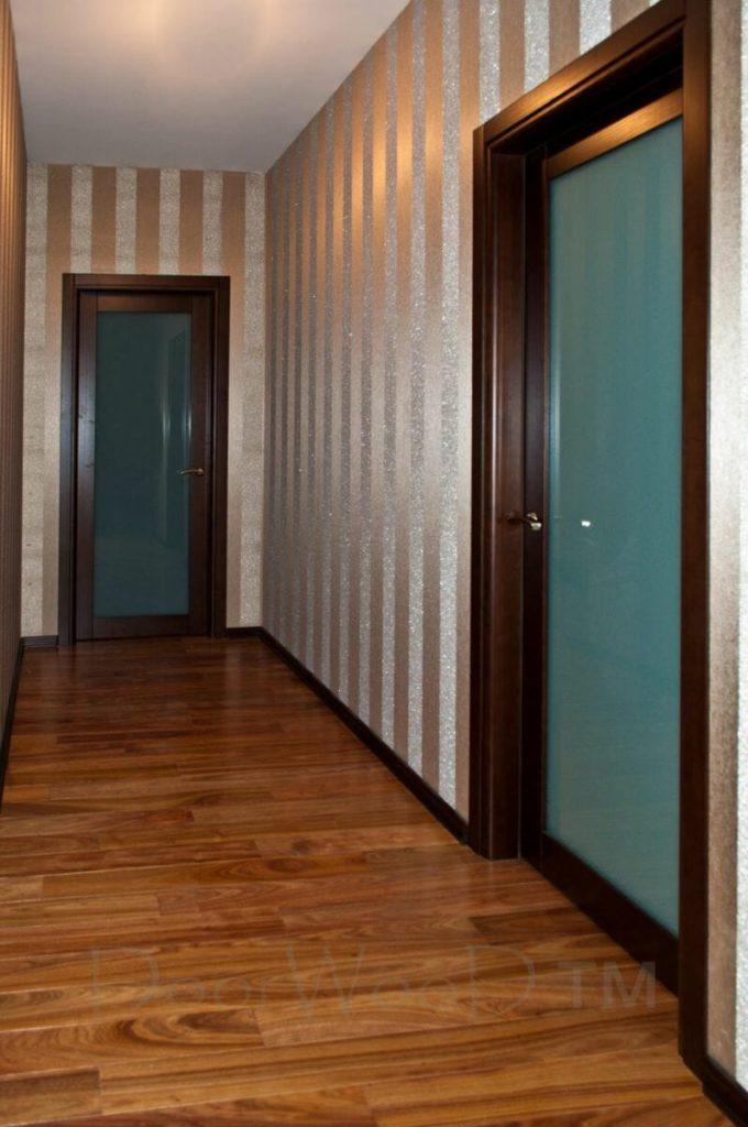 Двери межкомнатные из ясеня Раздвижные двери в гардеробную Установка ч. 2