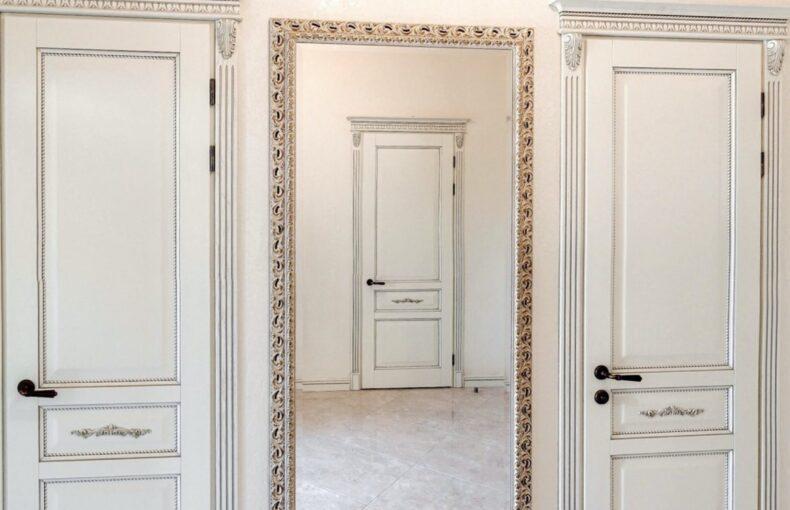 Патинированная покраска дверей