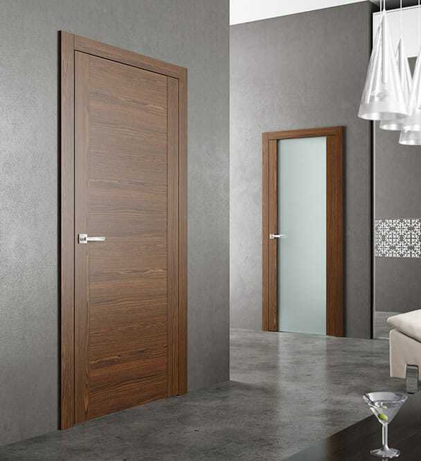 Doors inter-room with hidden loops Doors inter-room, doors of ash and oak, doors with hidden doorwood loops