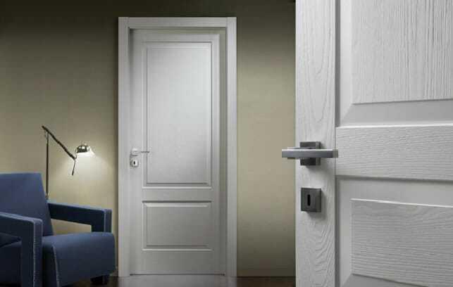 Doors inter-room with hidden loops Doors inter-room, doors of ash and oak, doors with hidden loops, white doors, doorwood.