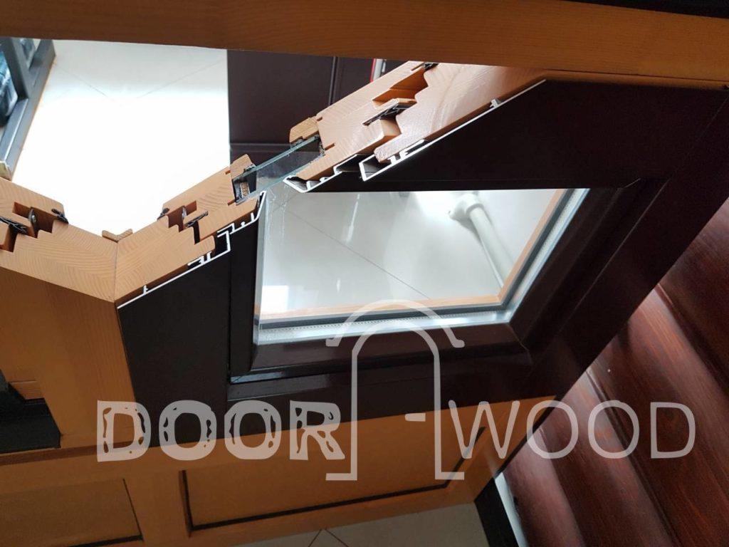 деревянные и деревоалюминиевые евроокна