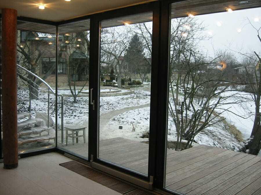 Сдвижная оконная система, окна харьков, евроокна со стеклопакетами