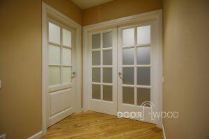 Дверцята ясна в класичному стилі дверної деревини