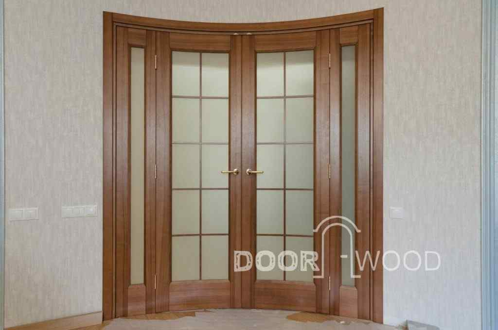 радиусная дверь киев видео