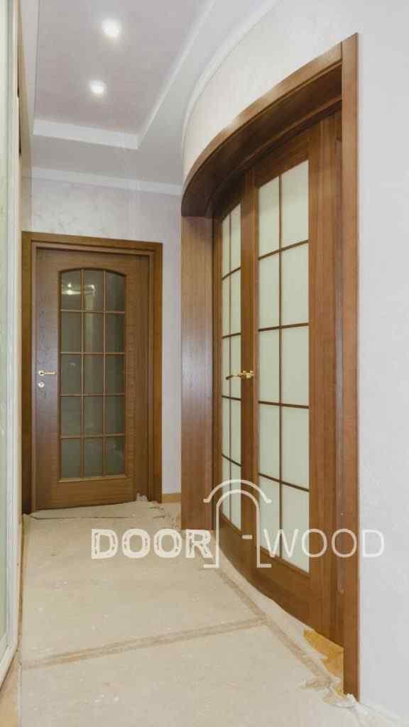 деревянные межкомнатные радиусные двери