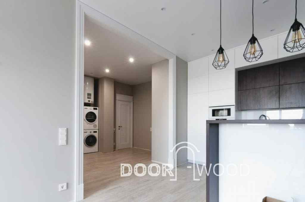 Кухня интерьер двери арки