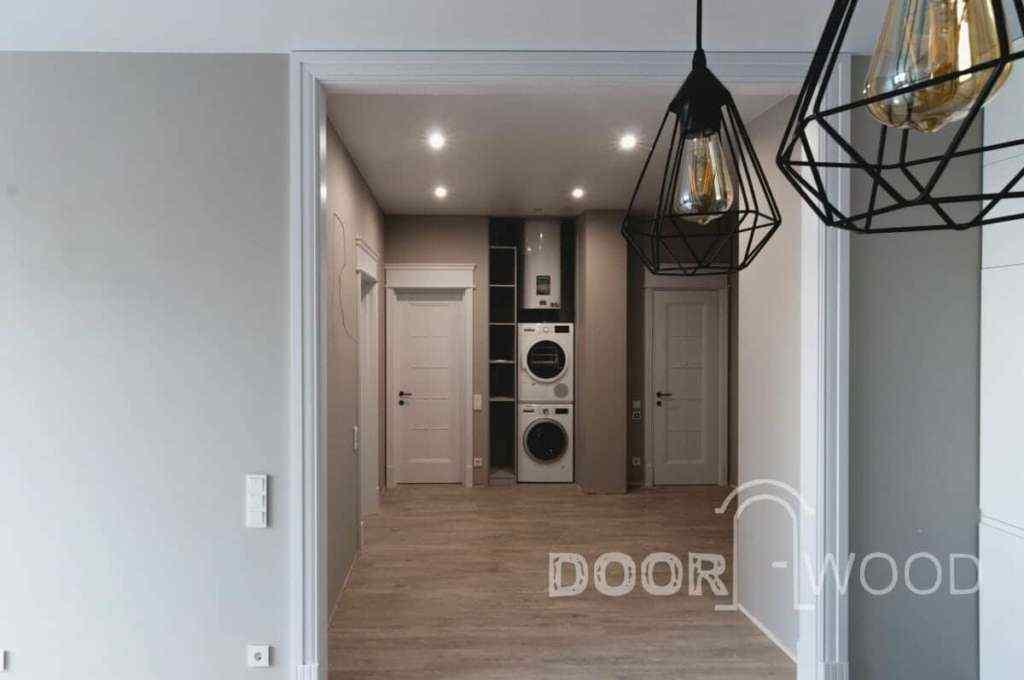 новострой в харькове дизайнерские белые деревянные двери