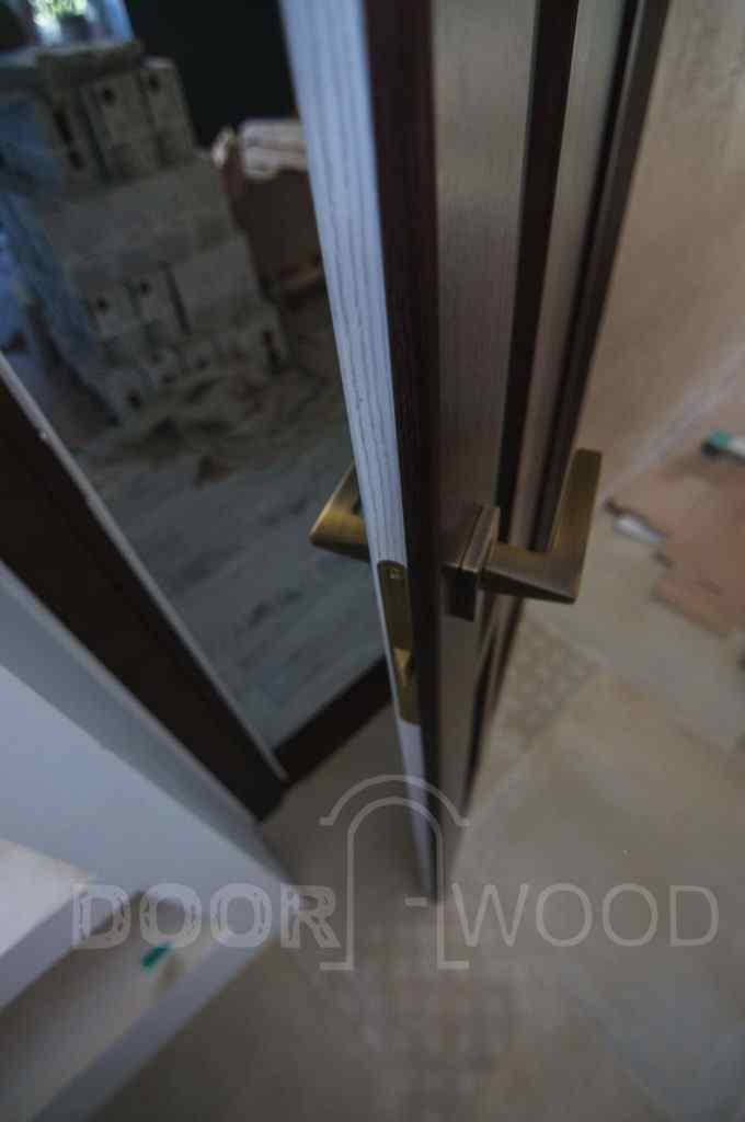 двухсторонняя покраска дверей