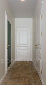 Двери из ясеня Old Town Классические белые двери