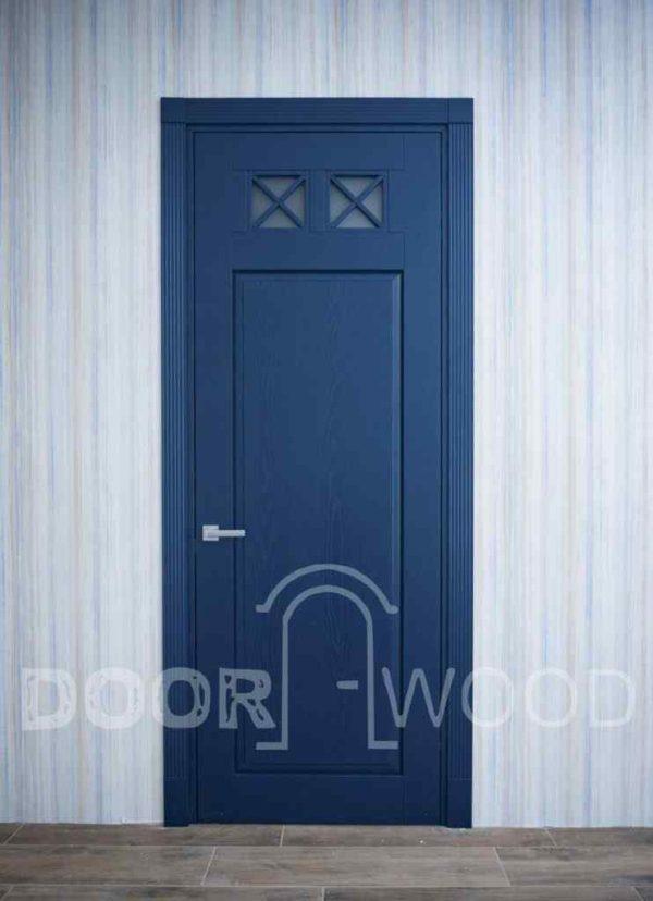 Дизайнерские двери Лофт 1.1 из массива ясеня