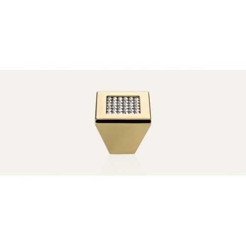 Mesh ручка-кнопка мебельная золото