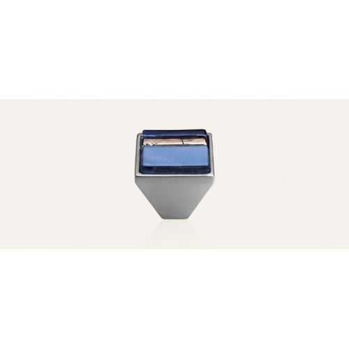 Brera Linear ручка-кнопка мебельная (хром матовый)