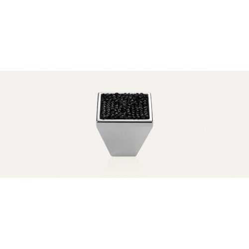 Rocks ручка-кнопка мебельная хром полированный