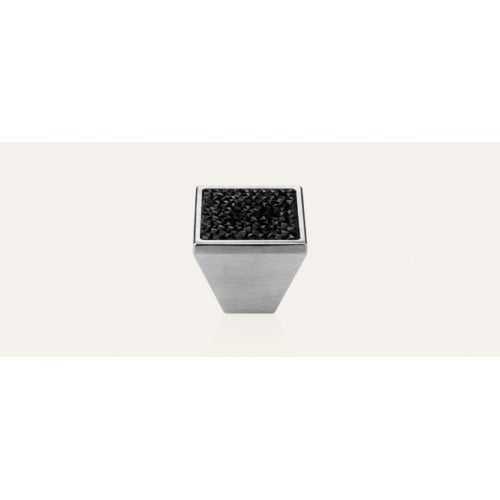 Rocks ручка-кнопка мебельная хром матовый