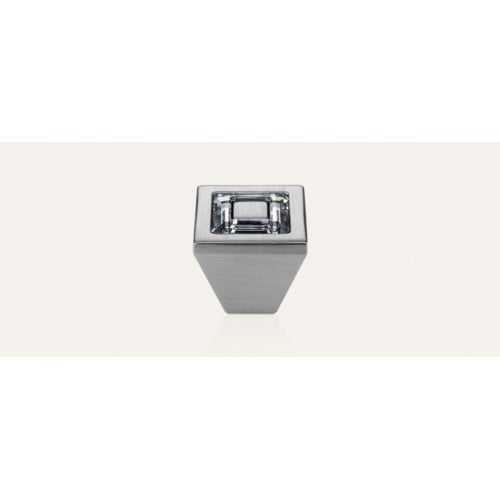 Ring ручка-кнопка мебельная хром матовый