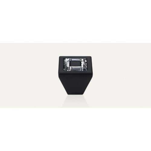 Ring ручка-кнопка мебельная матовый черный