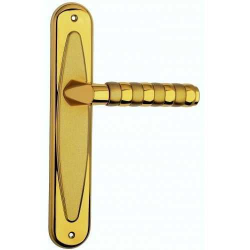 Relax ручка на планке золото/золото матовое