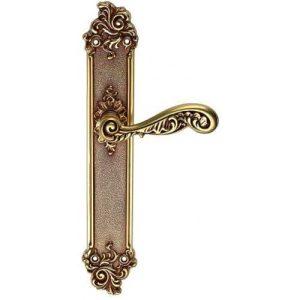 Rococo ручка на планке французское золото