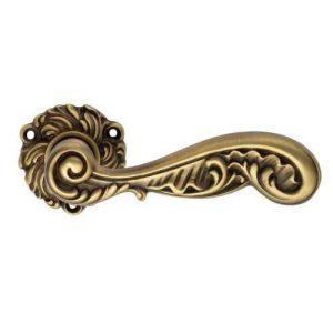 Rococo ручка дверная патина