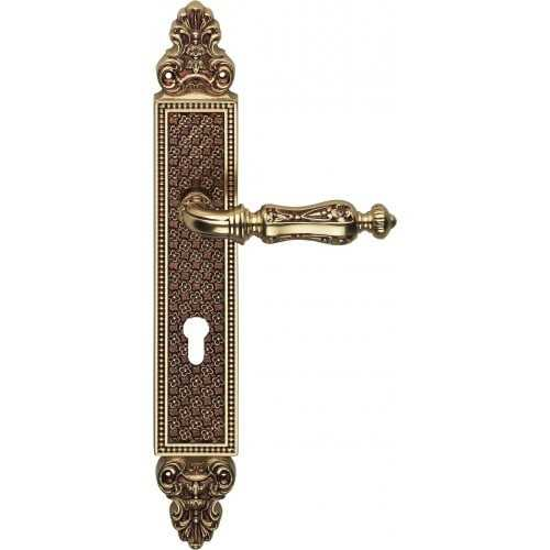 Soleil ручка на планке французское золото