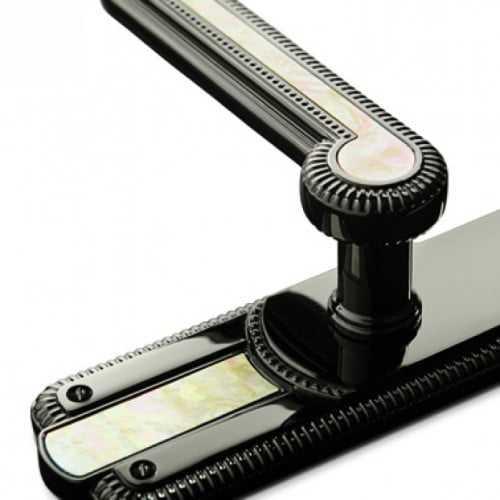 Ручка на планке Enrico Cassina черный полированный