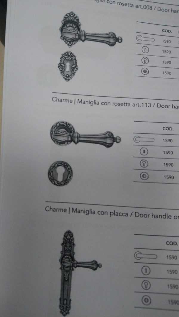 Дверная ручка Charme