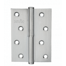 Петля дверная карточная MVM B-100L MC матовый хром