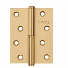 Петля дверная карточная MVM B-100R SB матовая латунь