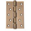 Петля дверная карточная MVM Linde H-120 MACC матовая бронза