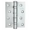 Петля дверная карточная MVM Linde HE-100 CP полированный хром