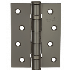 Петля дверная карточная MVM Linde HE-100 MBN матовая античная сталь