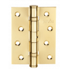Петля дверная карточная MVM Linde HE-100 PB полированная латунь