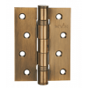 Петля дверная карточная MVM Linde HE-100 PCF полированная бронза