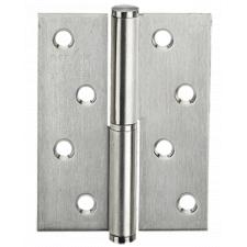 Петля дверная карточная MVM SS-100 L SS нержавеющая сталь