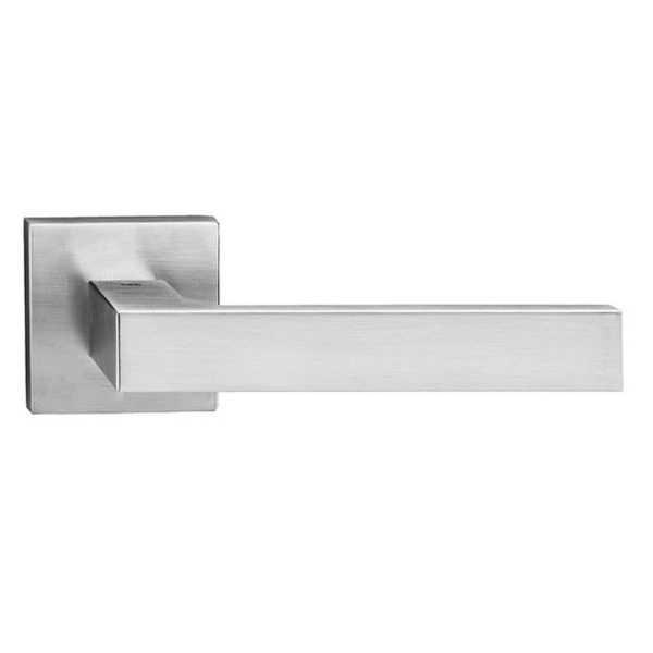 Ручка Tupai Square Q 2275 5SQ-96 хром матовый R ф/з
