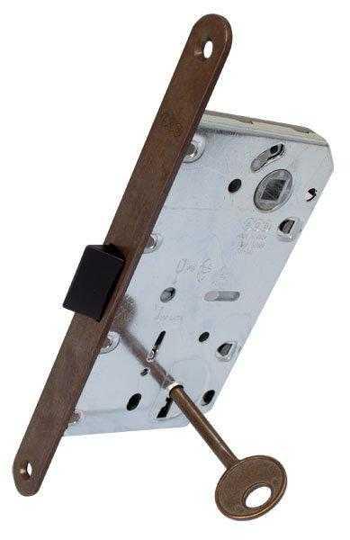 AGB Art. B011015002 Механизм Mediana Evolution Patent с ключом бронза 90мм 1