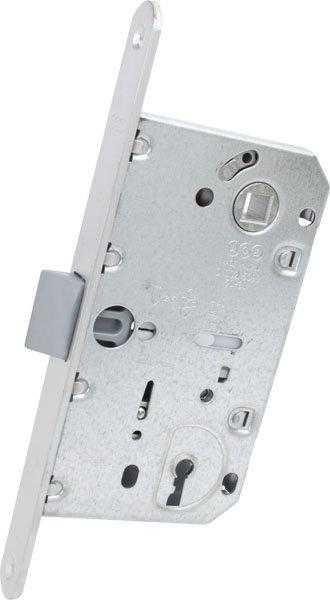 AGB Art. B011015034 Механизм Mediana Evolution Patent с ключом мат хром 90мм 1
