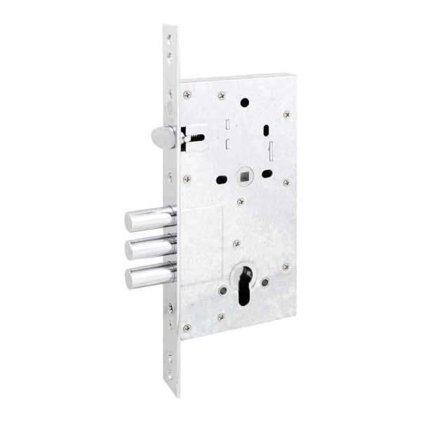 Securemme 2061UCR60XX механизм замка  3-риг  c защ., под цилиндр мц 85мм 1