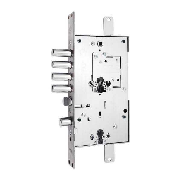 Securemme 2533SCR0328CXX Замок 4-риг с защелкой левый, защелка сталь 1