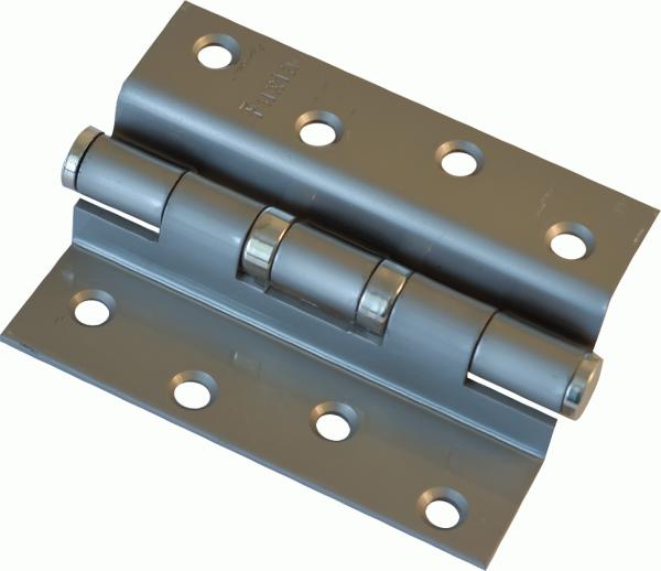 Fuxia Петля гнутая 100*2,5 (1 подш, сталь) мат.никель левая 1