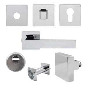 Комплект Quadra для входной двери (ручка