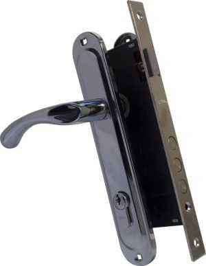 Pучка на планке 0582 (910K6) 85мм хром 945-3 RB BRN англ. 70мм 5 кл хром