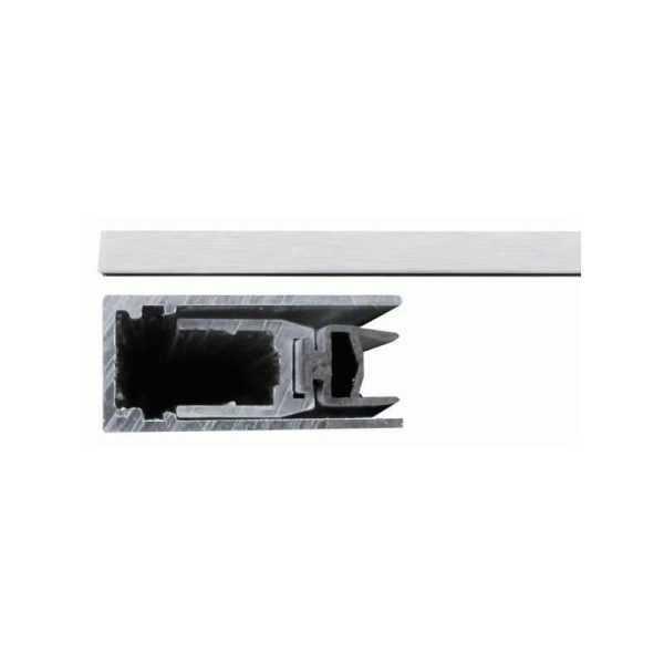 420 Порог алюм с резин вставкой (противопожарный) 63-43 см 1