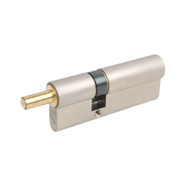 AGB Art. C524162545 Цилиндр Scudo 5000 80mm мат никель со штырем 1