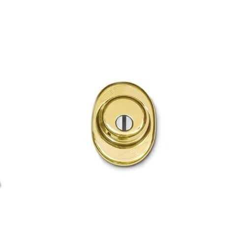 Mottura Art. 9411504P Броненакладка Defender д.50мм, золото 1