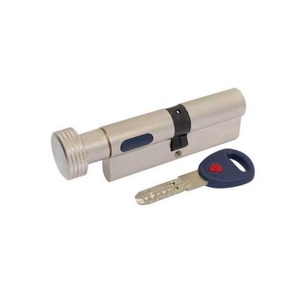 Цилиндр Mauer KC-NW4 51/51=102 кругл.ручка никель 3 кл 1