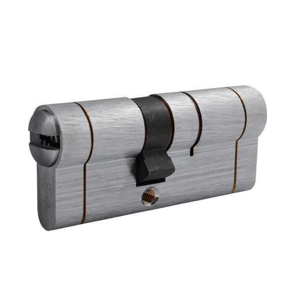 Цилиндр Securemme 3220CCS30401X5 К22 30/40 мм 5кл +1 монтажный ключ, мат. хром 1