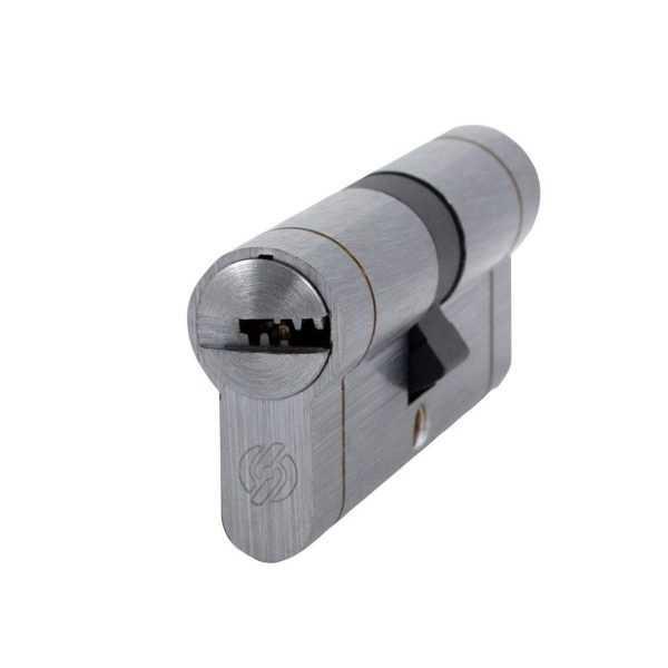 Цилиндр Securemme 3220CCS35351X5 К22 35/35 мм 5кл +1 монтажный ключ мат.хром 1
